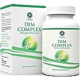 DIM Supplement – 200 mg – Menopause Support, Hormone Balance for Women & Estrogen Blocker for Men, Hot Flash Relief, Acne Treatment, PMS Support & Menopause Weight Loss Supplement