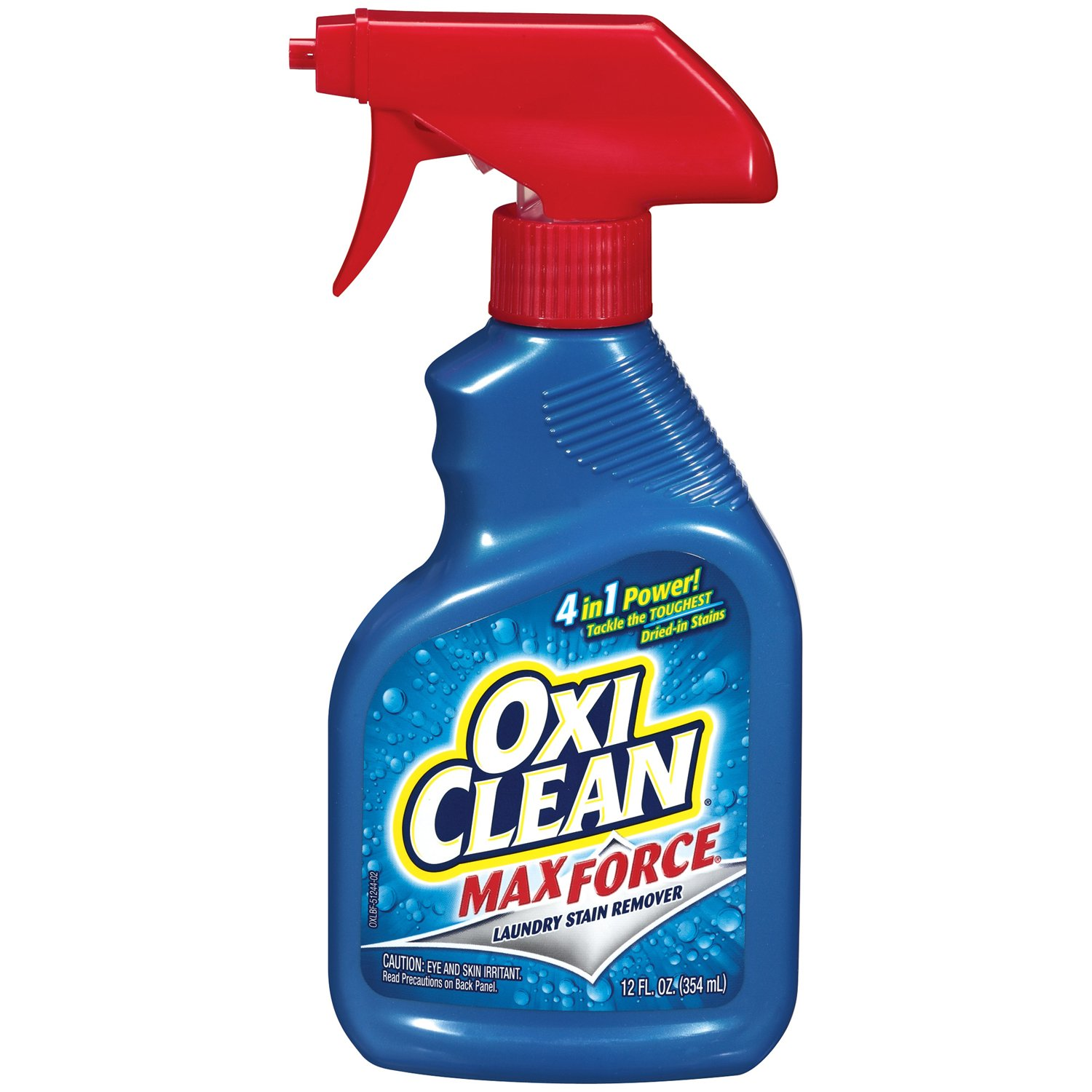 Arm & Hammer 57037-51244 OxiClean Max Force Laundry Stain Remover Spray, 12 oz (Pack of 12)