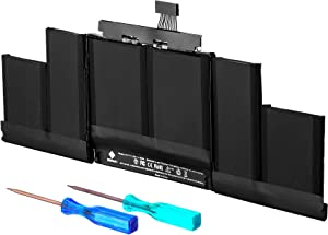 E EGOWAY Replacement Laptop Battery Compatible with A1417 Mac Book Pro 15 inch Retina A1398 (Mid 2012 Early 2013), fits ME665LL/A ME664LL/A MC976LL/A MC975LL/A