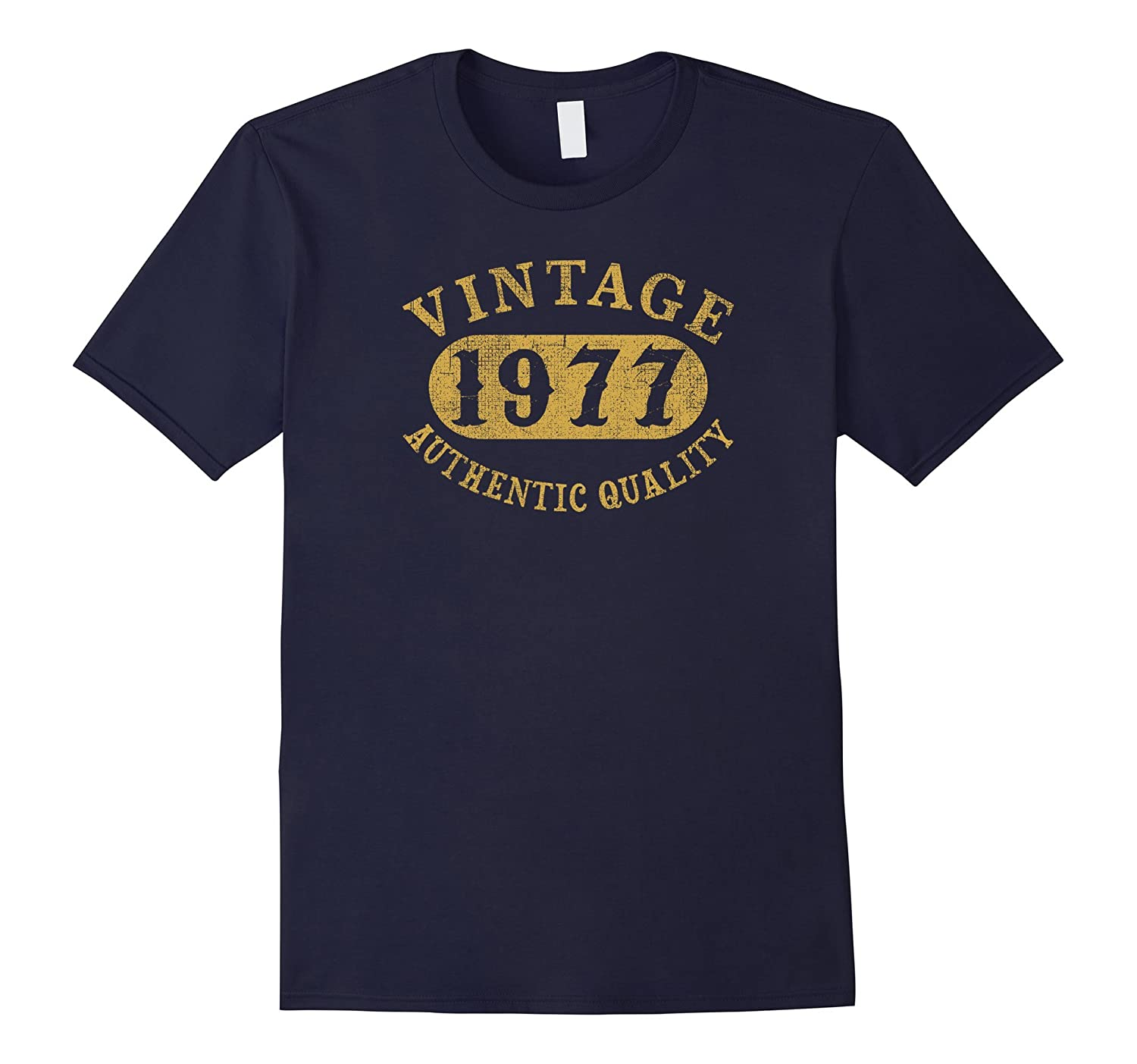 40 years old 40th B-day Birthday Gift Vintage 1977 T-Shirt-Vaci