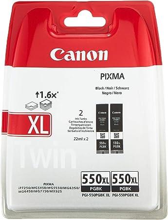 Canon Tintenpatrone Pgi 550 Xl Pgbk Schwarz Black 15 Elektronik