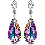 KATE LYNN Swarovski Crystals Waterdrop Earrings...