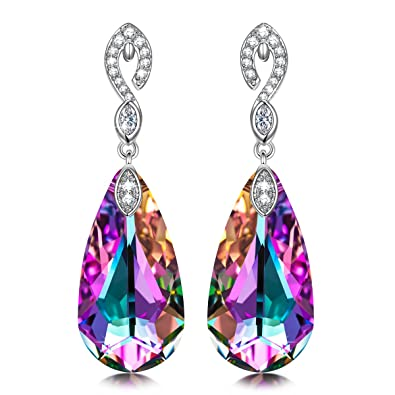 edebf7073 Kate Lynn Earrings for Women Gifts Crystals Hypoallergenic Mermaid Earrings  Jewelry for Her anniversary Gifts for