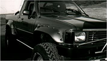 Bushwacker 31907-11 Toyota Extend-A-Fender Flare Set of 4