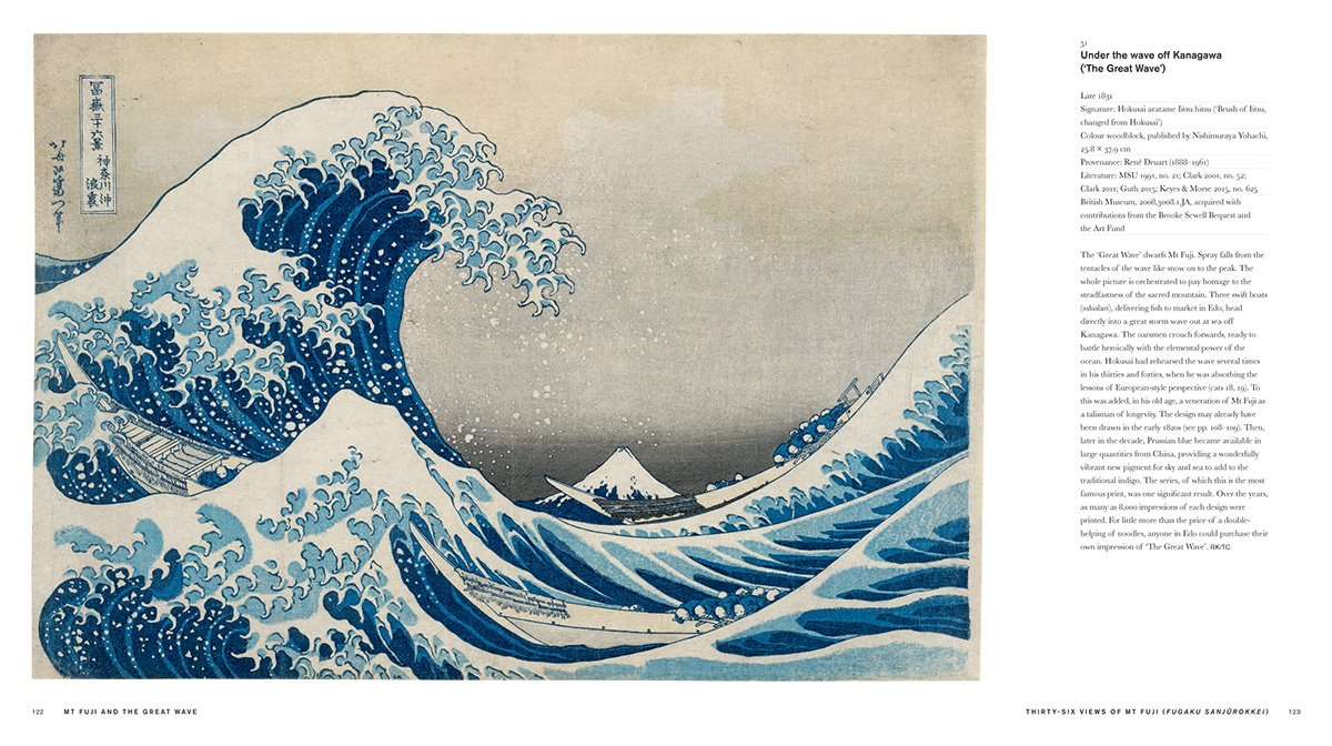 amazon hokusai beyond the great wave timothy clark roger keyes
