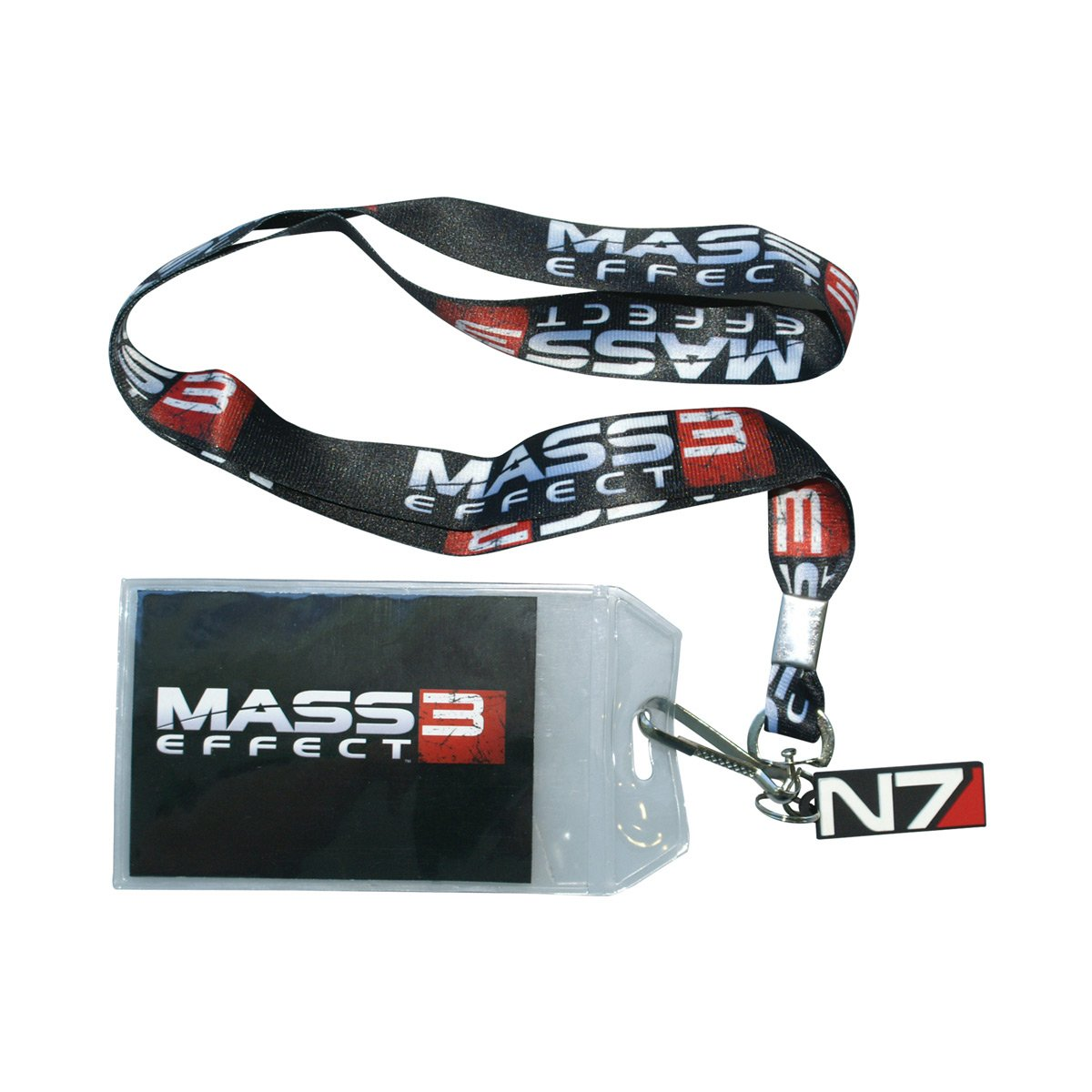 Bioworld Merchandising - Mass Effect 3 Lanyard With Charm Logo