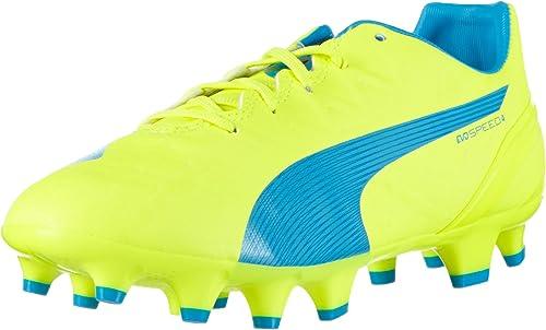 PUMA Evospeed 4.4 FG Jr, Chaussures de Football Mixte Enfant