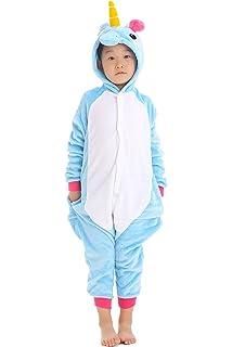 469b6a10f0 Yutown Kids Unicorn Costume Animal Onesie Pajamas Children Halloween Gift