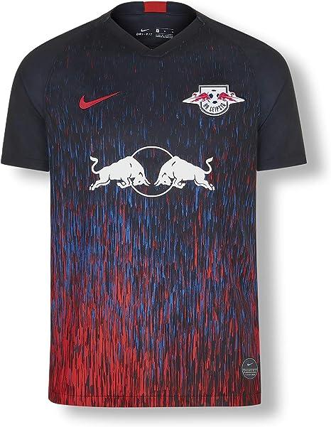 RB Leipzig Third Camiseta 19/20, Negro Niños X-Small Camiseta ...