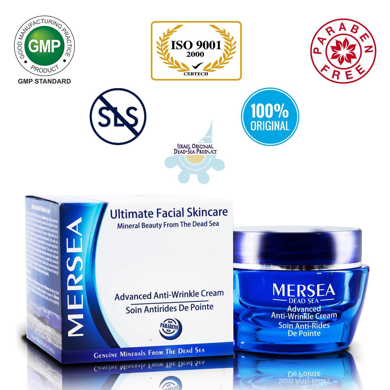 mersea Ultimate Mar Muerto Antiarrugas Crema 50 ml - paraben libre - Trampa Premium cosmético - directamente de Israel del Mar Muerto: Amazon.es: Belleza
