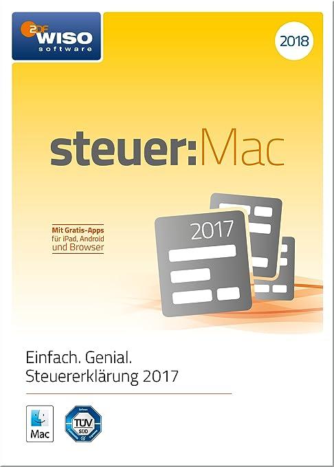 WISO steuer:Mac 2018 (für Steuerjahr 2017) [Online Code ...