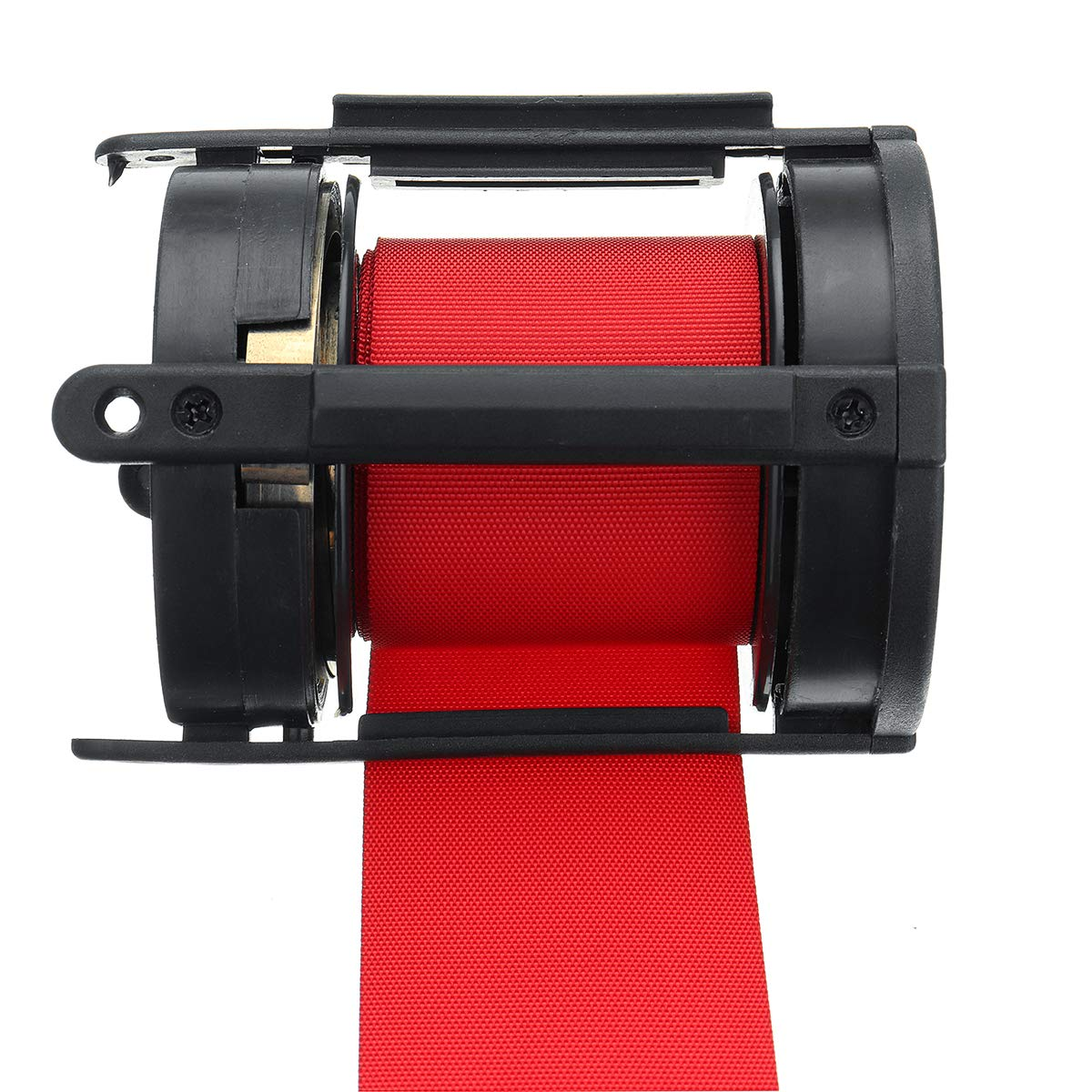 2M TuToy 2//3//5M R/étractable Stanchion Belt Crowd Queue Control Barrier Mounted Accessory Red
