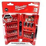 Milwaukee Shockwave ensemble de 33pièces perceuses/visseuses de bricolage 4932430813
