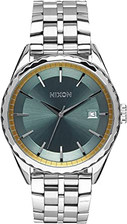 Amazon.com  Nixon Womens The Minx Watch - Silver Sage Gold  Watches b93b8070a