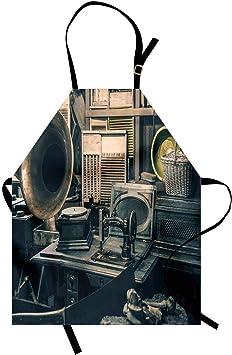 Delantal antiguo, Inventario de tienda de antigüedades Máquina de ...