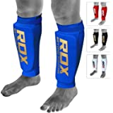 RDX Boxe Protège Tibia MMA Cheville Kick Boxing Muay Thai Karate