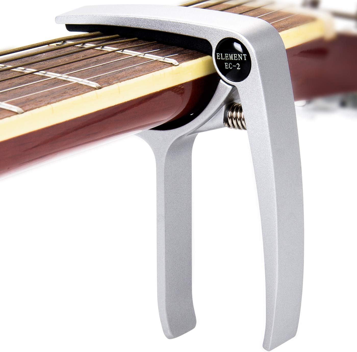DigitalLife Trigger Cejilla Guitarra - Cejilla de Afinación para ...