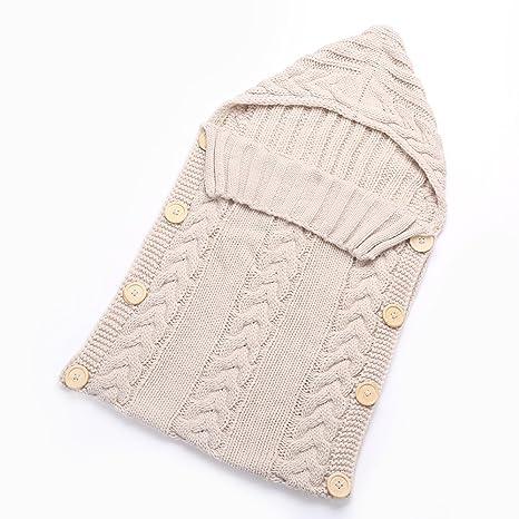 Saco de dormir para bebé de Hi8 Store, hecho a mano con punto de