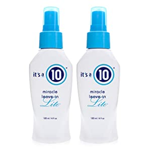 It's a 10 Haircare Miracle Leave-In Lite, 4 fl. oz. (Pack of 2)