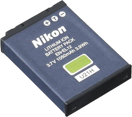 Batería para Nikon EN-EL12 Enel 12 Enel 12 ACCU AKKU