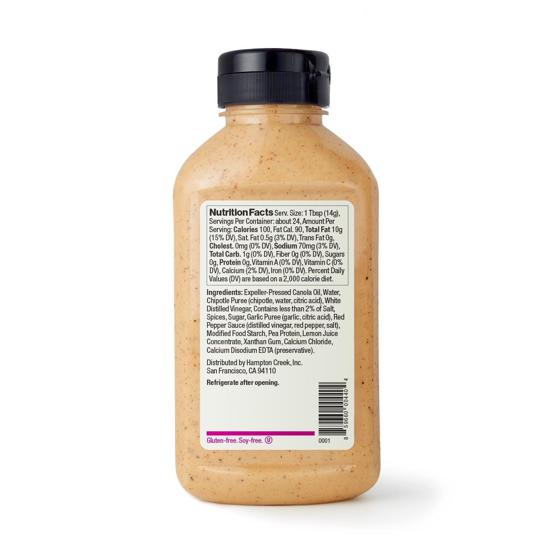 amazon com just chipotle mayo non gmo 12oz grocery u0026 gourmet