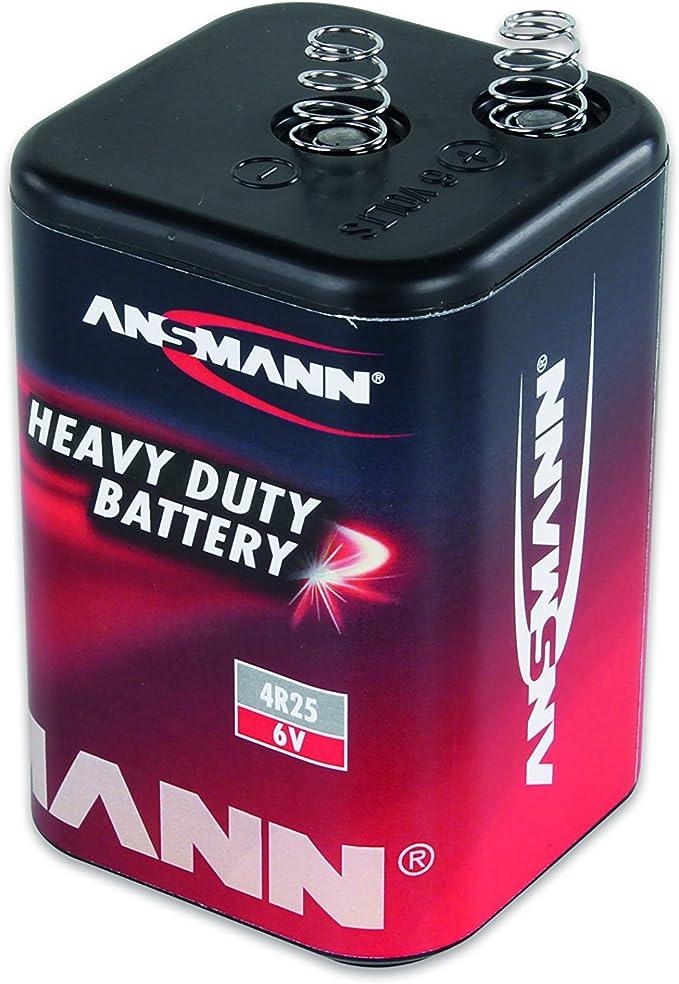 Ansmann Zink Kohle Flachbatterie 6v 4r25 Elektronik
