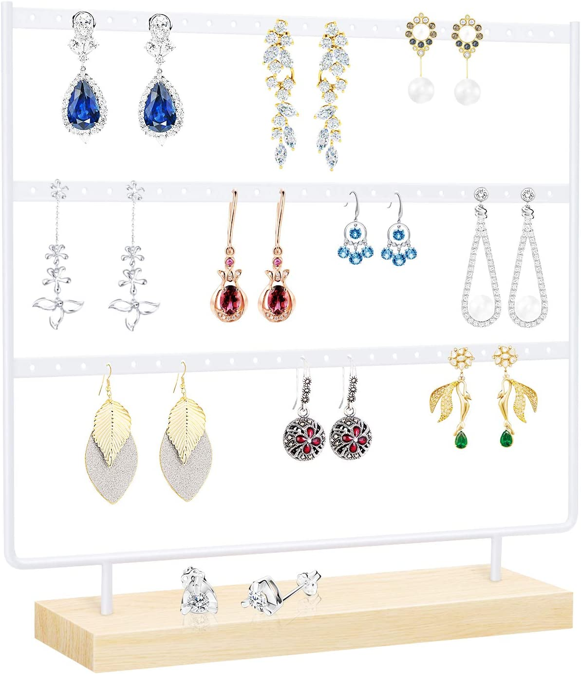 Suneed Earring Holder Organizer Jewelry Display Stand