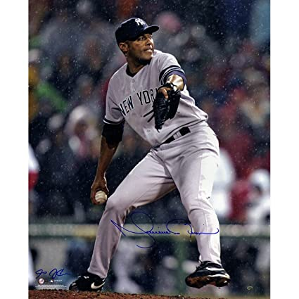 3e4d1b42a Image Unavailable. Image not available for. Color  Mariano Rivera Signed  Yankees Grey Jersey ...