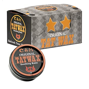 Amazon.com: TatWax All Natural Soothing Tattoo Healing Ointment Balm ...
