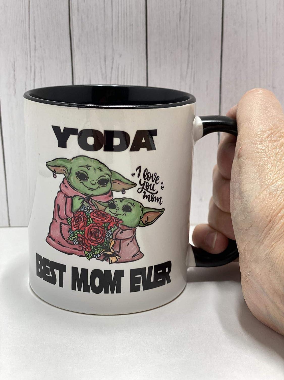 Best Mom Ever Yoda Best Mom Mug Mothers Day Gift For Mom Best Mom Gift Mom