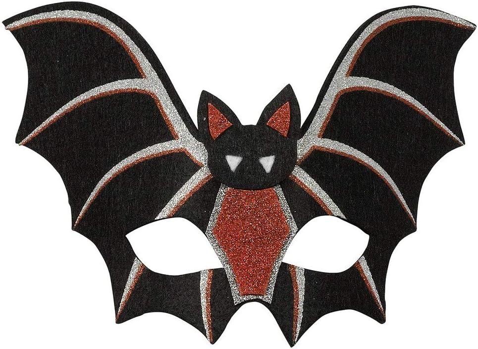 Widmann Masque chauve-souris en dentelle pour adultes taille unique noir vd-wdm04741