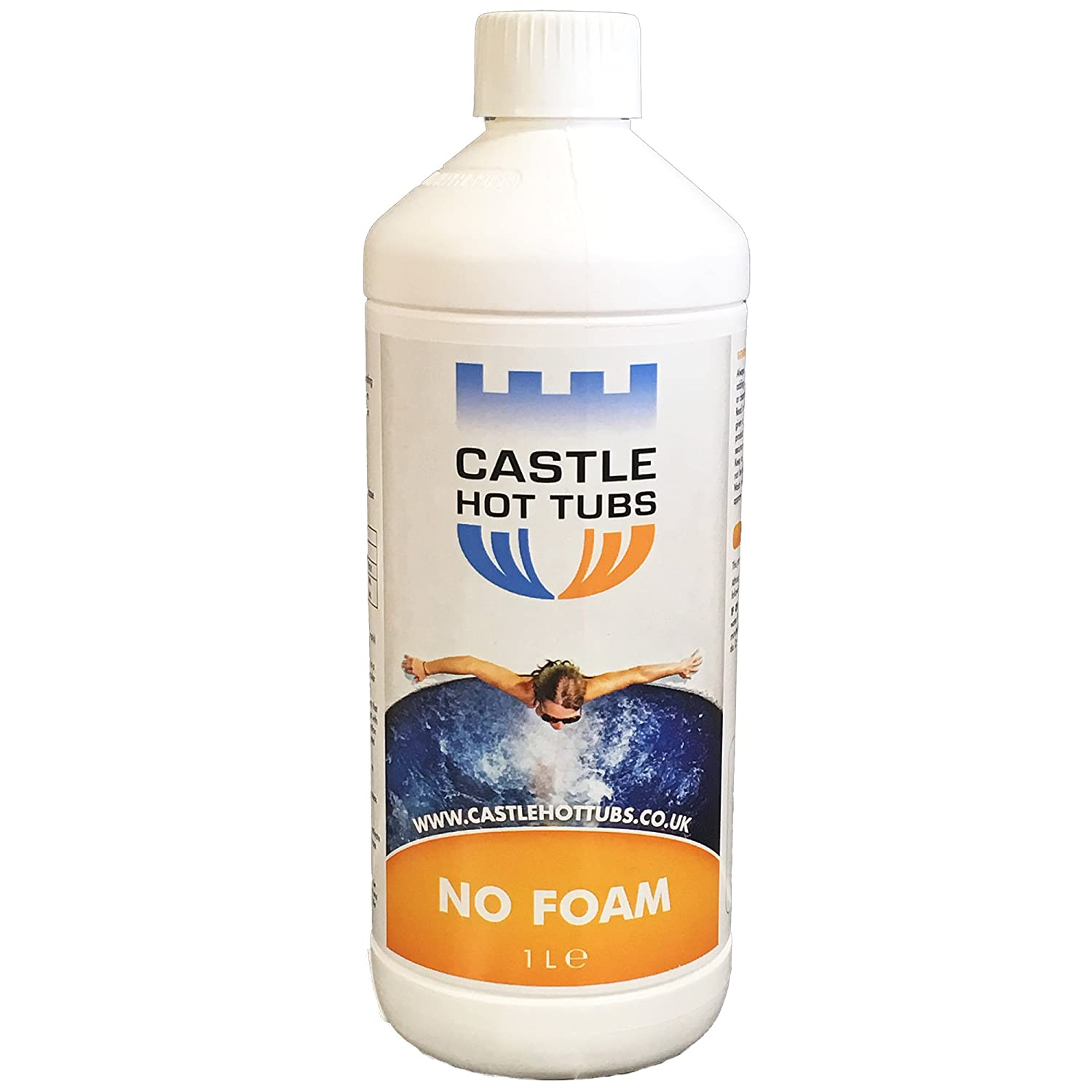 1 LITRE NO FOAM CASTLEHOTTUBS DE- FOAMER ANTI HOT TUB SPA HOTTUBS AWAY TUBS