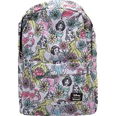 Loungefly Disney Princess Backpack School Bag Jasmine Ariel Belle Snow White: Toys & Games [5Bkhe1403310]