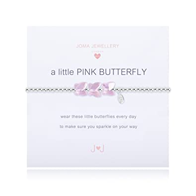 Joma jewellery Childrens a little Pink Butterfly bracelet pjVI6