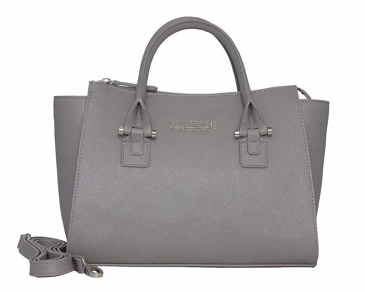Amazon.com: Kenneth Cole Reaction KN1550 Magnolia Handbag Top Handle Messenger Crossbody Shoulder Bag (Stony Brook): Home & Kitchen