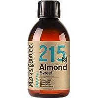 Naissance Sweet Almond Oil (nr. 215) 250ml - Puur, Natuurlijk, Wreedheidvrij, Veganistisch, Geen GGO