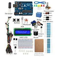 Deals on SunFounder UNO R3 Project Starter Kit w/Tutorial for Arduino
