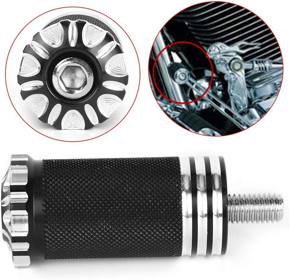 apto para Iron 883 XL 1200 palanca de cambios reposapi/és Pedal de cambio Reposapi/és para motocicleta palanca de cambios