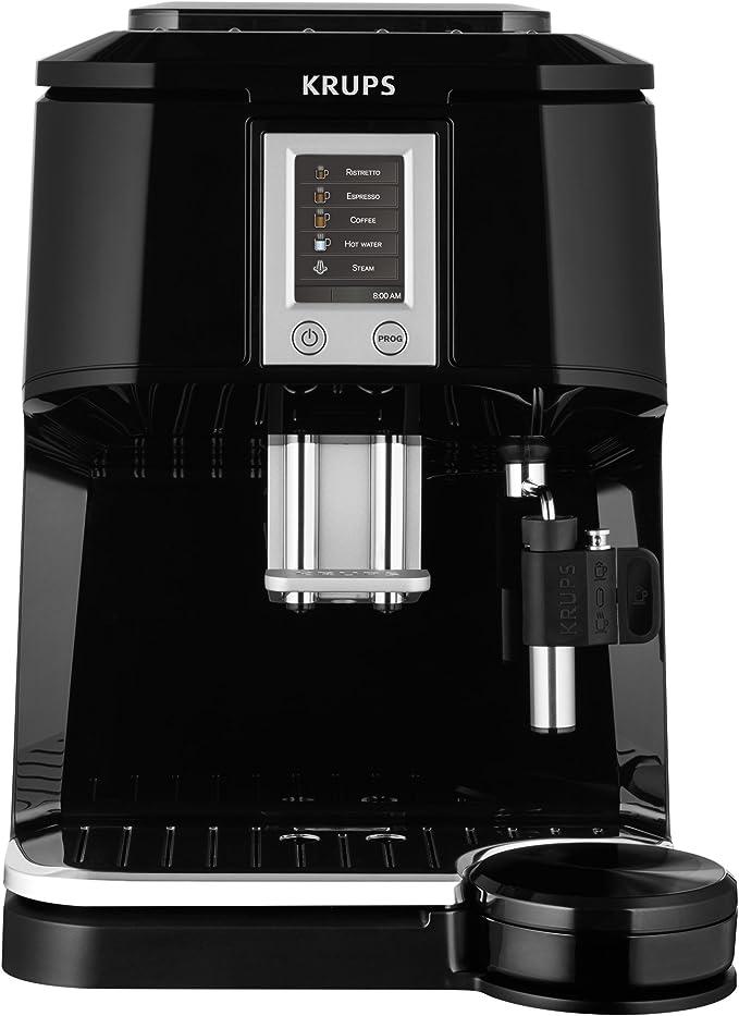 Krups EA844810 - Cafetera súper-automática, con pantalla táctil ...