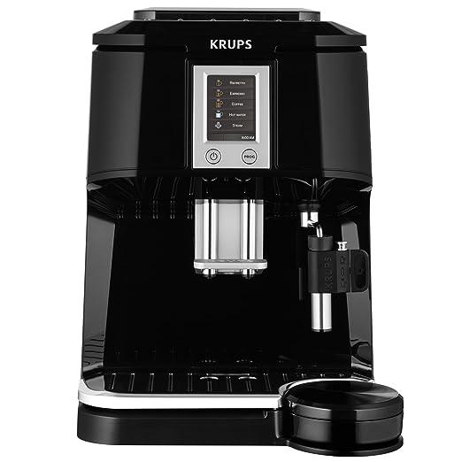 Krups EA844810 - Cafetera súper-automática, con pantalla táctil, color negro