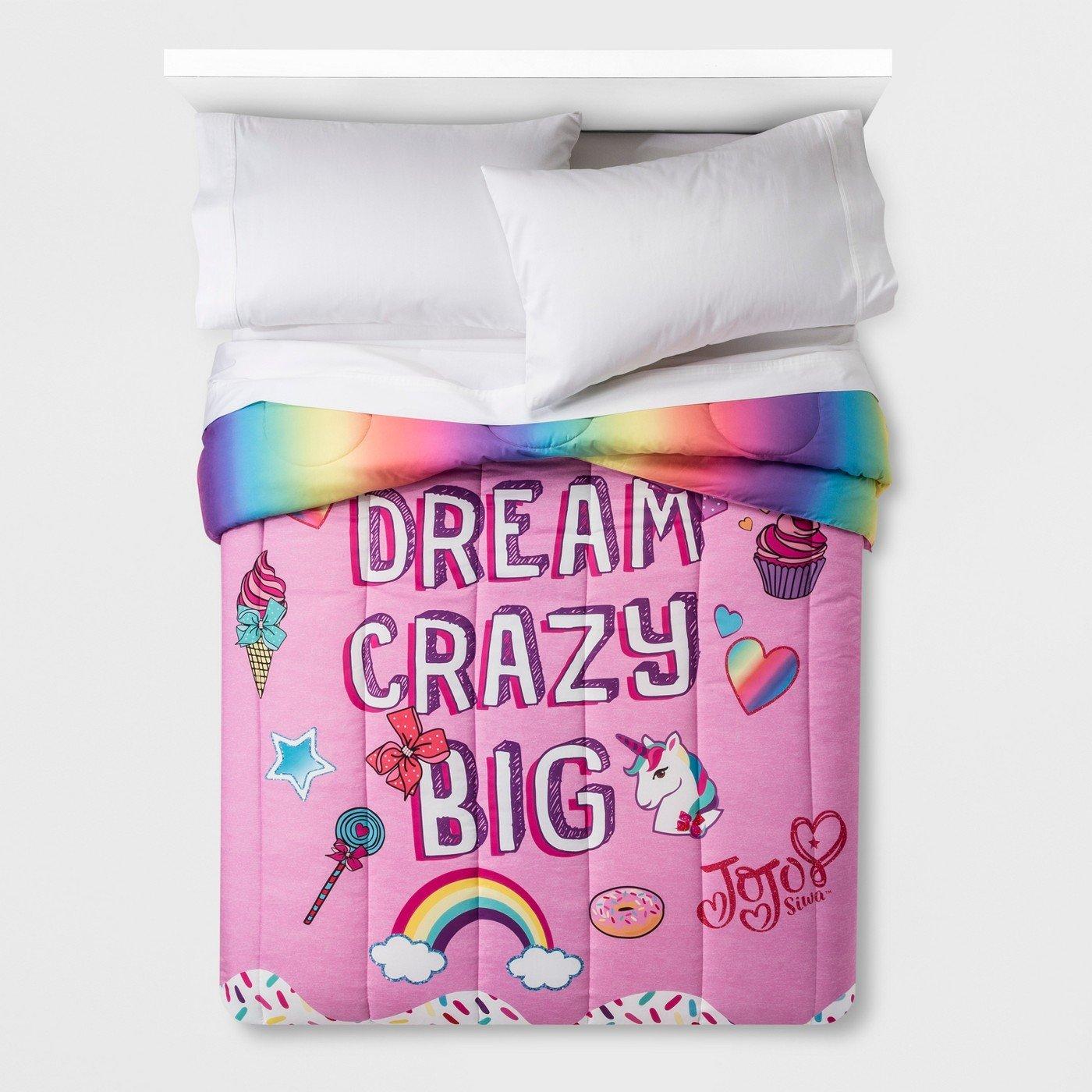 JoJo Siwa Full Reversible Comforter Pink Franco