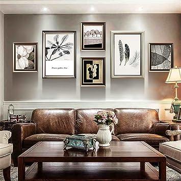 BJFF Bilderrahmen, Bilderrahmenwand Dekorative Gemälde Wohnzimmer ...