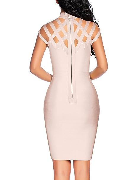 Women's Hollow Out Bandage Dress - Prom Dress Hut