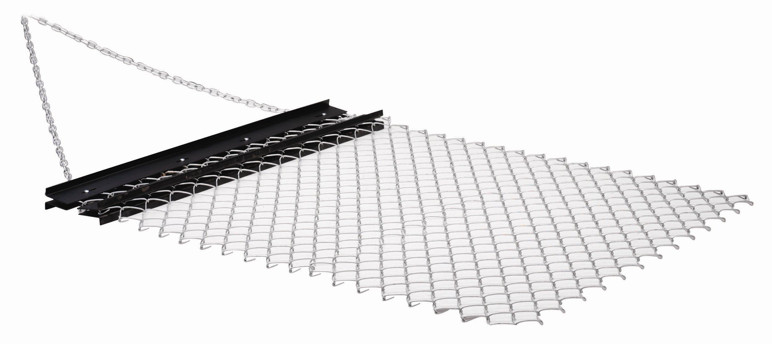 Steel Mesh Drag Mat 5x3Ft Ground Baseball Softball Field Soil Leveling Equipment