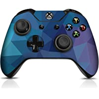Controller Gear Controller Skin - Dark Blue Poly - Officially Licensed by Xbox One