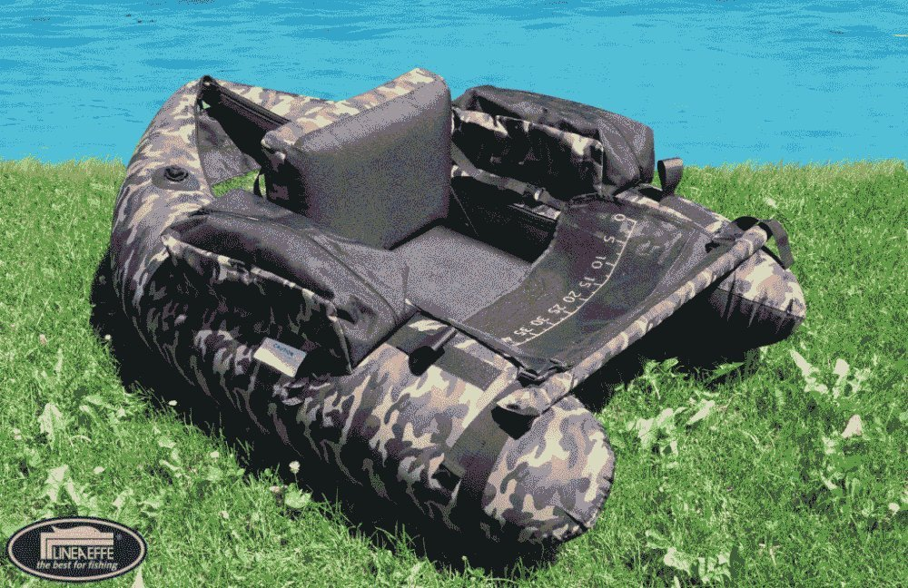 Lineaeffe Float Tube Belly Boat Camouflage 8032895106385