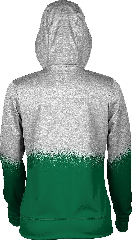 School Spirit Sweatshirt Manhattan College Girls Pullover Hoodie Spray Over