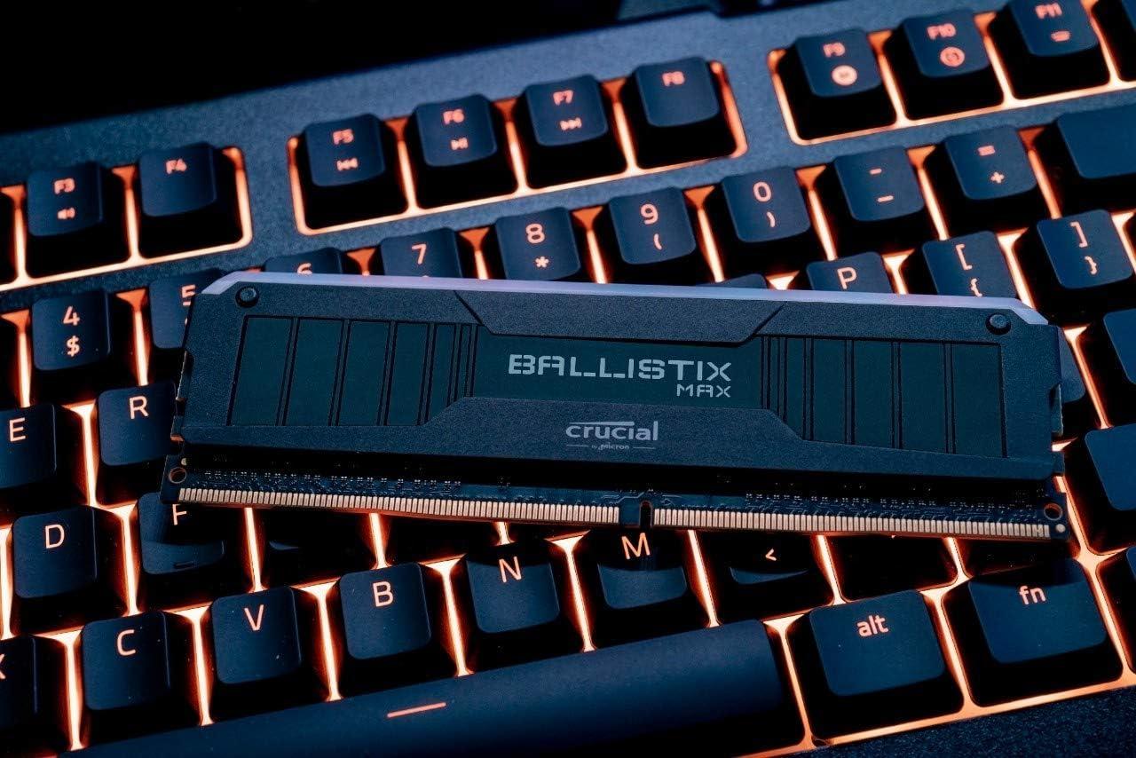 8GB x2 DDR4 Memoria Gamer para Ordenadores de sobremesa DRAM Crucial Ballistix BL2K8G26C16U4W 2666 MHz 16GB CL16 Blanco