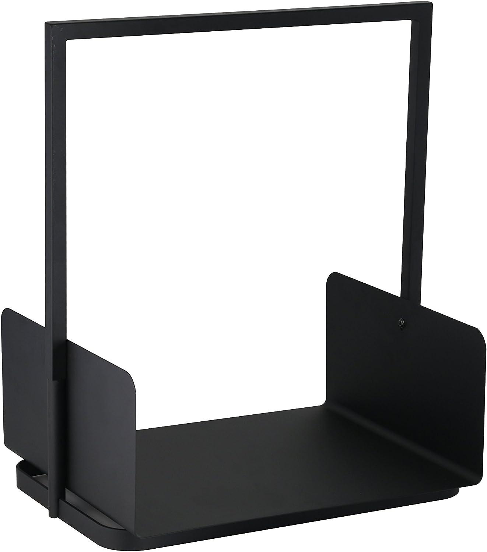 Kamino-Flam 125402–Madera Lege Hierro, 40,5x 30x 47cm, Color Negro