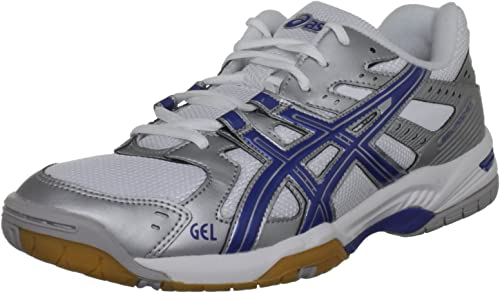 Asics Mens Gel-Rocket 8 Court Shoes Blue Sports Breathable Lightweight Trainers